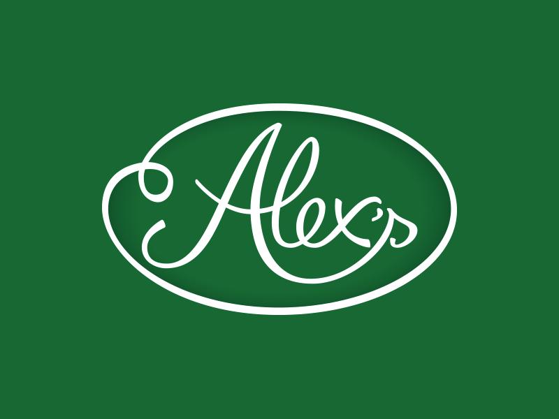 Alex's logo.