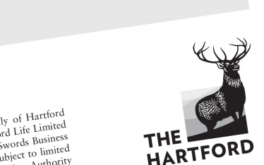 Detail from documentation created for The Hartford.